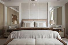 Quarto com tons claros e décor sofisticado | CASA CLAUDIA