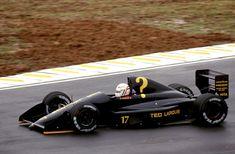 Gabriele Tarquini (ITA) (Automobiles Gonfaronaise Sportive), AGS JH24 - Ford-Cosworth DFR 3.5 V8 (DNPQ) 1990 Brazilian Grand Prix, Autódromo José Carlos Pace by F1-history on deviantART