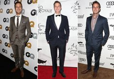14. Armie Hammer  It helps that Hammer just plain looks good in clothes, but the reason we keep taking a second look at the rising star is how he makes the classics feel modern. An essential navy suit? On Hammer, it's a low-stance one-button number, paired with a fresh plaid shirt. The perfect tux? Hammer goes sleek with an accompanying sliver of a bow tie, for a minimal look with maximum style.