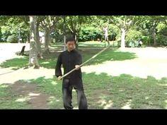 Master Zhou Zhong Fu. Tai Chi Staff. Basic technique