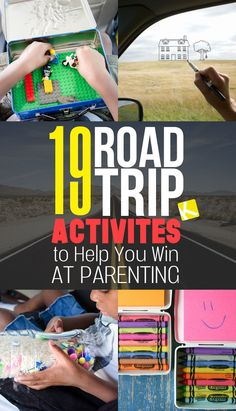 19 Road Trip Activities to Help You Win at Parenting