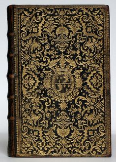 Black morocco binding by Dubuisson for the Dauphin, Louis de France.