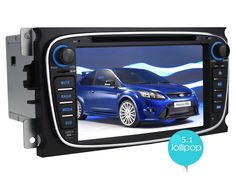 Joying Newest Android 5.1.1 Lollipop Autoradio Car Stereo 7 inch Quad Core HD 1024*600 resolution Black head unit Radio OEM GPS Navigation system support Bluetooth, Wifi, DAB+, Steering wheel control, DVR for Ford Focus, Mondeo Android Radio, Head Unit, Gps Navigation, Ford Focus, Rc Cars, Nintendo Consoles, Quad, Oem, Wifi