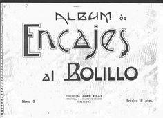 3 ALBUM DE ENCAJES AL BOLILLO antiguos - Blanca Reyes - Picasa Web Album