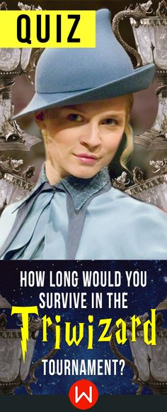 May the best witch win! Triwizard Tournament trivia. Do you think you know Harry Potter enough to ace this HP challenge? Let's see how long you would survive in the Triwizard Tournament. Fleur Delacour is looking at you!