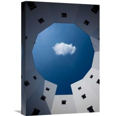Global Gallery Sobul 'Cloud' Stretched Canvas Artwork