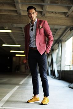 What My Boyfriend Worewas actually the brainchild of South African blogger Sergio Ines' former girlfriend, who used to post pictures of hisoutfits on Instagram. It's since become a buzzymenswear blog for dapper dandies everywhere.