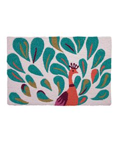 Look at this Jellybean Rugs Peacock Rug on #zulily today!