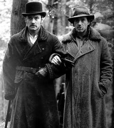 Jude Law and Robert Downey Jr.   Sherlock Holmes