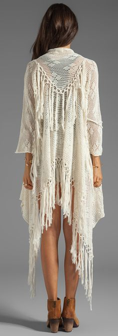 Spell & The Gypsy Collective at REVOLVE - knit tassel cardigan