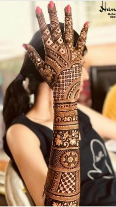 Explore the list of best and trending mehndi designs for every occasion. Latest mehndi designs for your wedding or any other events Wedding Henna Designs, Engagement Mehndi Designs, Legs Mehndi Design, Latest Bridal Mehndi Designs, Full Hand Mehndi Designs, Mehndi Designs 2018, Mehndi Design Pictures, Modern Mehndi Designs, Mehndi Designs For Beginners