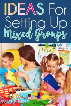 """How the heck to do I work on everyone's goals?!""  Today I have few ways to approach mixed groups so everyone gets their needs met and you keep your head on straight."