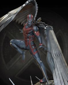 Artist Marthin Agusta 3d Artist At Ubisoft Singapore Xm Studios Archangel Marvel Characters Marvel