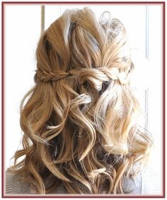 Wedding Hairstyles Down For Medium Length Hair Idea