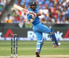 Cricket Photo: You talking to me? Ms Dhoni Movie, History Of Cricket, India Win, Shikhar Dhawan, Icc Cricket, Sachin Tendulkar, Cricket World Cup, Talk To Me, South Africa