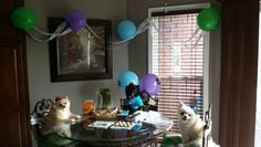 Birthday party at my house