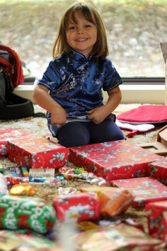 Creating a tradition of less is more with kids at Christmas. Teaching children that the holiday is about more than excess.