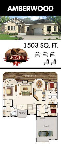 one story ranch large rooms open floor plan breakfast bar walk