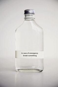 Emergency . . .