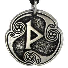 Thurisaz Thurs Rune of Thor Pendant Necklace Norse Viking Asatru Jewelry Pepi http://www.amazon.com/dp/B00J33H5C6/ref=cm_sw_r_pi_dp_TPuAub02BF2EY