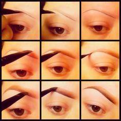 jennhunny83's Instagram - Pinsta.Me: #Eyebrow #makeup tutorial