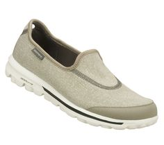 Buy SKECHERS Women's SKECHERS GOwalk Walking Shoes only $59.00.  I now own a black and a blue pair.  Want the gray.  These shoes rock.  For traveling they are great!