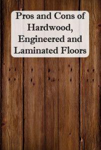 hardwood vs laminated floors