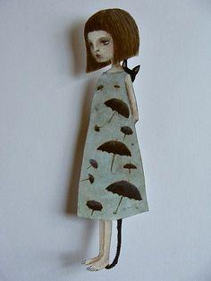 Les poupées de papier de MAKI HINO
