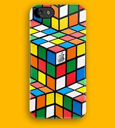 Rubik's cube apple iphone 5, iphone 4 4s, iPhone 3Gs, iPod Touch 4g case