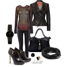 """Black Out"" by christa72 on Polyvore"