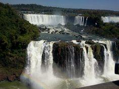 Maravilhas do mundo. Cataratas do Iguacu!!