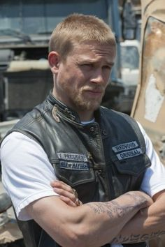 Sons of Anarchy Booster (2011) Photos with Charlie Hunnam by lea