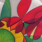 """Artista plástico Quim Alcantara - Arte brasileira """"Horário de Verão"""" – acrílica s/ tela, 2012"""