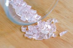 Rose Quartz Clear Crystal Facet Rough 20.25 CT. LOT  from Madagascar by JEWVARY on Etsy