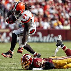 Isaiah Crowell's 386 rushing yards are the most by a Brown through the 1st 4 games of a season since HOFer Jim Brown had 476 in 1965.