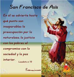 TARJETAS Y ORACIONES CATOLICAS: San Francisco de Asis