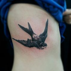 50 Lovely Swallow Tattoos.