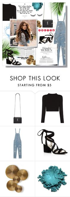 """""""Untitled #120"""" by madhu-147 ❤ liked on Polyvore featuring Yves Saint Laurent, True Religion, Kenneth Cole, Arteriors and shu uemura"""