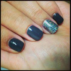 Asphalt Shellac nails