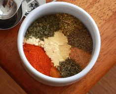 Greek Seasoning Blend Recipe - The Daring Gourmet. Made it for Gyros.turned out great! (no need to grind it up) Gyro Seasoning, Creole Seasoning, Seasoning Mixes, Blackened Seasoning, Homemade Spices, Homemade Seasonings, Homemade Food, Greek Seasoning Blend Recipe, Seasoning Recipe