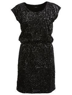 VIFLONCA - SEQUINS PARTY DRESS, Black