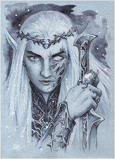 King and Warrior by Candra.deviantart.com on @deviantART