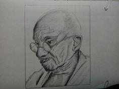 Portrait. Ganhiji