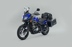 The Suzuki V-Strom 650 Voyager Pack http://suzukibulletin.co.uk/v-strom-voyager-pack-now-available/