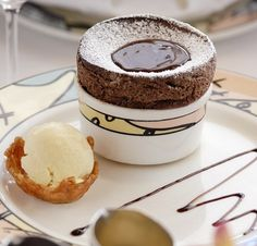Chocolate Souffle Recipe served at Palo at Disney Cruise Line