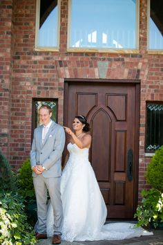 First look  Tacoma Wedding Photography