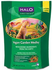 Win a bag of Halo vegan dog food!