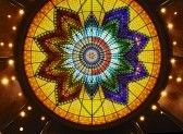 Stained_glass_window : art deco stained glass roof