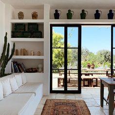 Home Interior Warm .Home Interior Warm Boho Living Room, Home And Living, Living Room Decor, Simple Living, Modern Living, Bedroom Decor, Design Cour, Mediterranean Decor, Beautiful Interiors