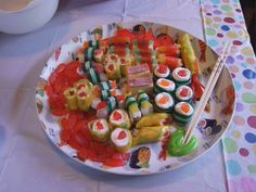 Candy sushi plate!